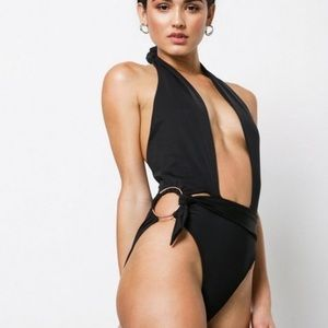 New For Love and Lemons Havana One Piece Swimsuit
